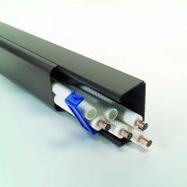Montagekanal - Installationskanal braun, 90 x 65 mm für Klimaanlagen