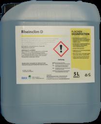 Rheinclim D, 5 Liter Kanister als Konzentrat, Reinigungs- und Desinfektionsmittel für die Kälte- und Klimatechnik