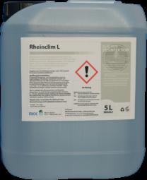 Rheinclim L, 5 Liter Kanister als Konzentrat, Reinigungs- und Desinfektionsmittel für Lebensmittelkontaktflächen