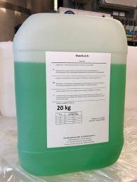 Rheinfluid N vorgemischt auf einen Frostschutz von -20° C, auf Basis von Monoethylenglykol, 20 kg Kanister